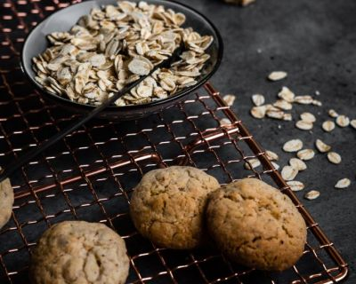 Vegane Hafer-Cookies