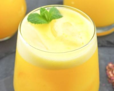 Relaxender Ananas Orange Kamille Smoothie