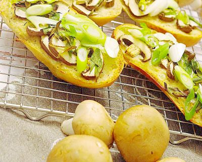 Pizzabaguettes Funghi