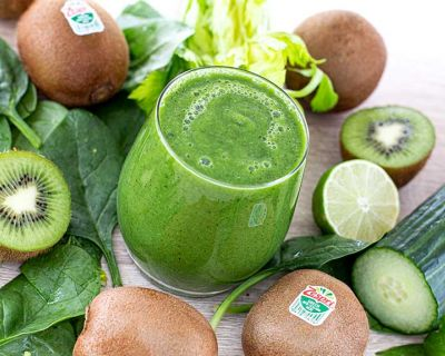 Grüner Green Kiwi Smoothie