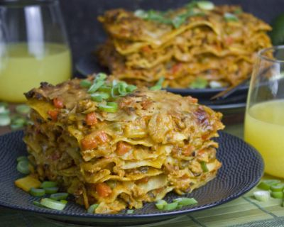 Curry-Lasagne – Asia meets Italy [Frankenfoods]